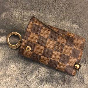 Louis Vuitton wallet key chain